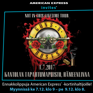 Guns N' Roses (USA) – Not In This Lifetime Tour