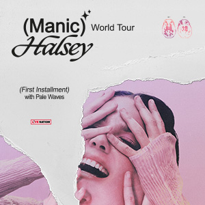 Halsey (USA) - Manic World Tour  + support: Pale Waves (UK)