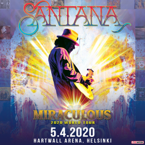 Santana (USA) - Miraculous 2020 World Tour